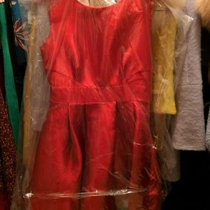 Kate spade red dress